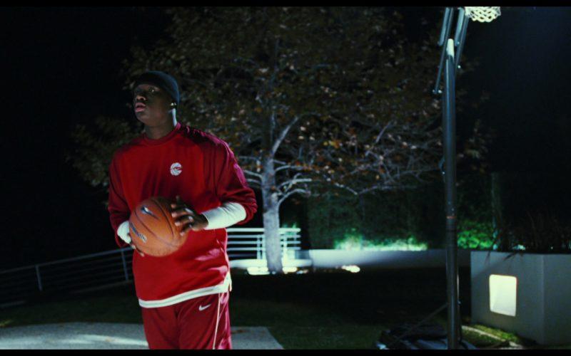 Nike Sweatshirt, Pants and Basketball Held by Antonio Tarver in Rocky Balboa