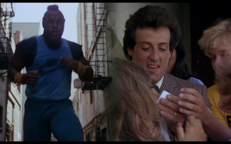 Nike T-Shirt Worn by Mr. T (Clubber Lang) in Rocky 3 (1)
