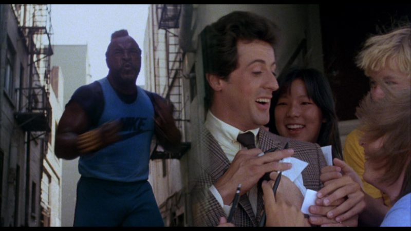 Nike T-Shirt Worn by Mr. T (Clubber Lang) in Rocky 3 (1982) - Movie Product Placement