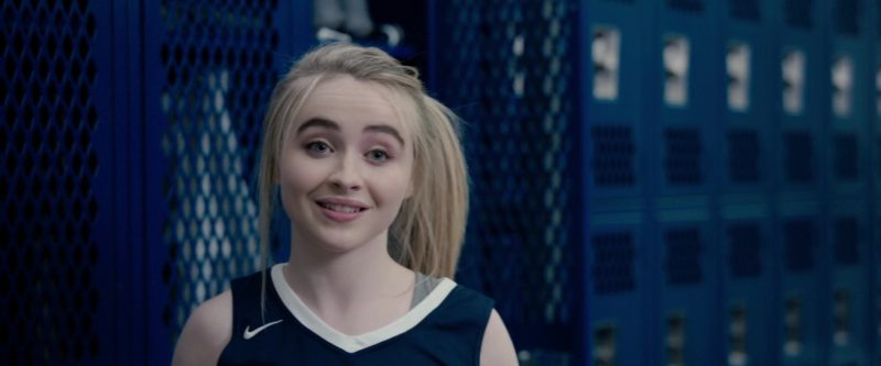Nike Women's Tee Worn by Sabrina Carpenter in The Hate U Give (2018) Movie Product Placement