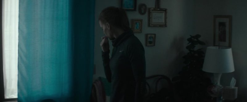 Nike Turtleneck Running Shirt Worn by Hilary Swank in What They Had (2018) - Movie Product Placement
