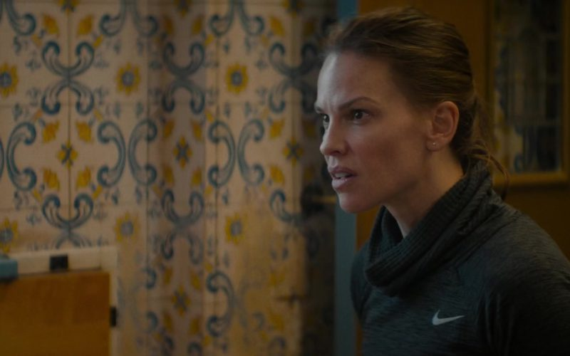 Nike Turtleneck Running Shirt Worn by Hilary Swank in What They Had (7)