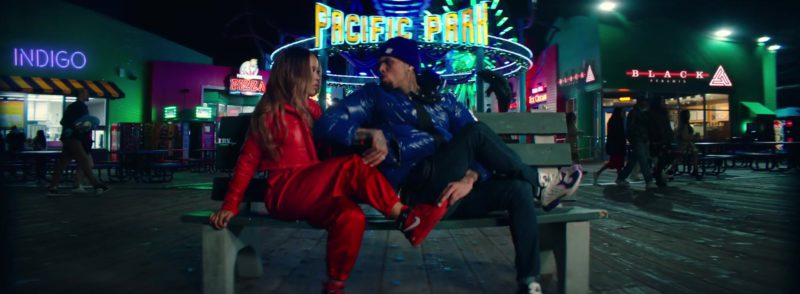 """Nike Women's Red Sneakers in """"Undecided"""" by Chris Brown (2019) Official Music Video Product Placement"""