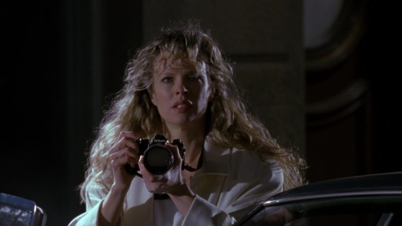 Nikon Camera Used by Kim Basinger (Vicki Vale) in Batman (1989) - Movie Product Placement