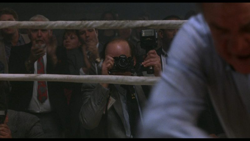 Nikon Camera in Rocky 5 (1990) Movie Product Placement