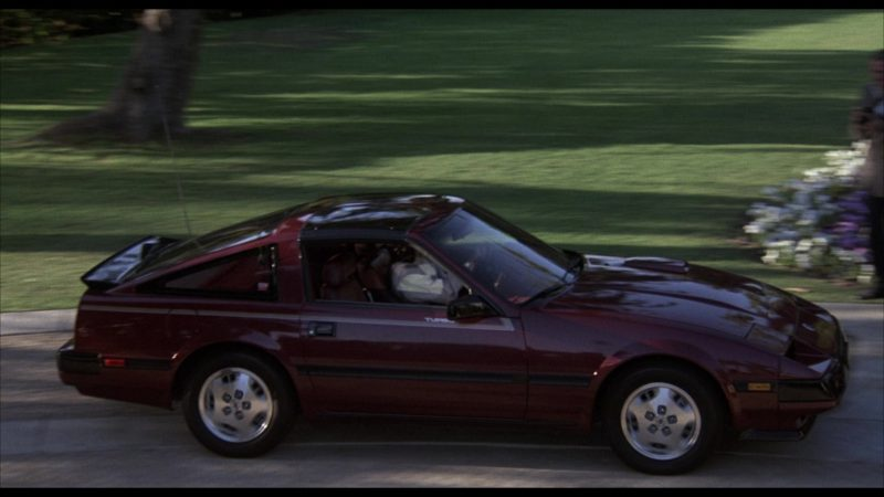 Nissan 300ZX Car in Rocky 4 (1985) - Movie Product Placement