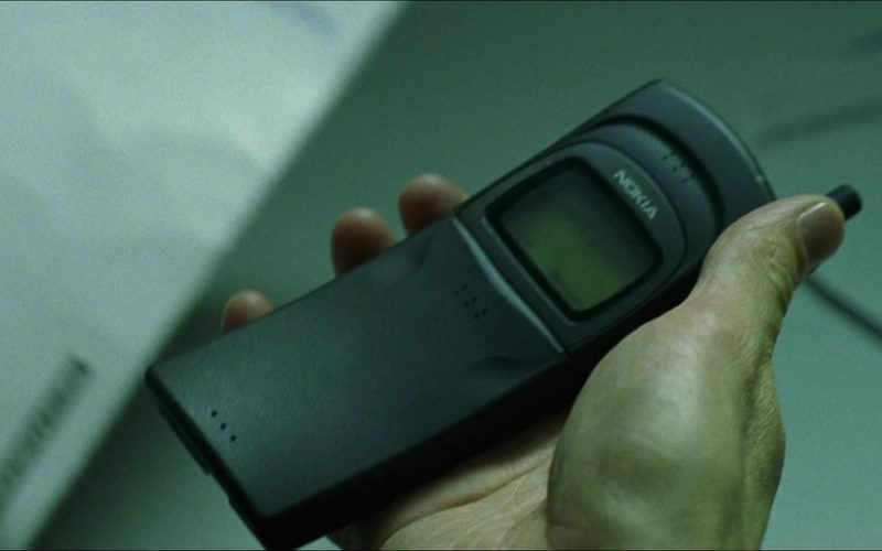 Nokia Cell Phone (Model 8110) Used by Keanu Reeves (Neo) in The Matrix (1)