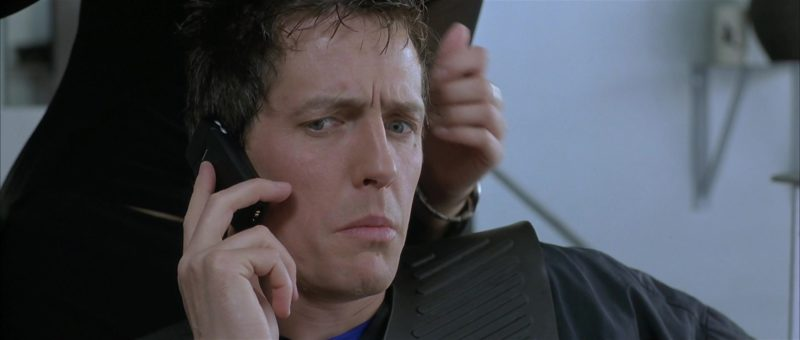 Nokia Cell Phone Used by Hugh Grant in About a Boy (2002) Movie Product Placement