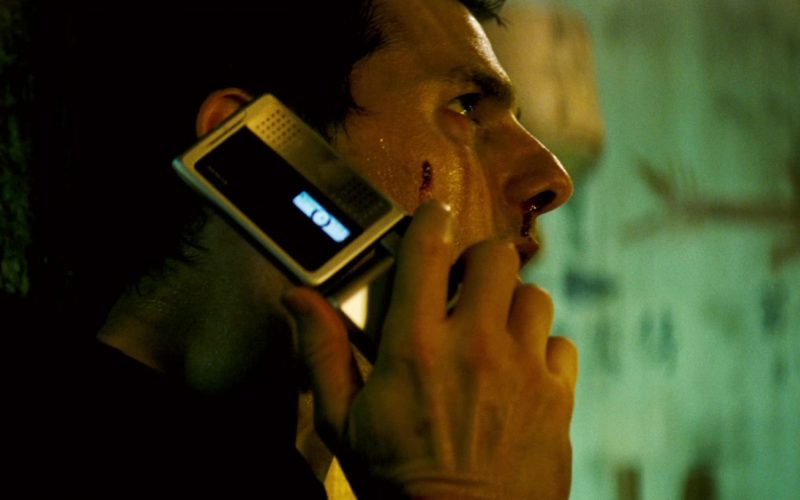 Nokia Cell Phone Used by Tom Cruise in Mission Impossible III (1)