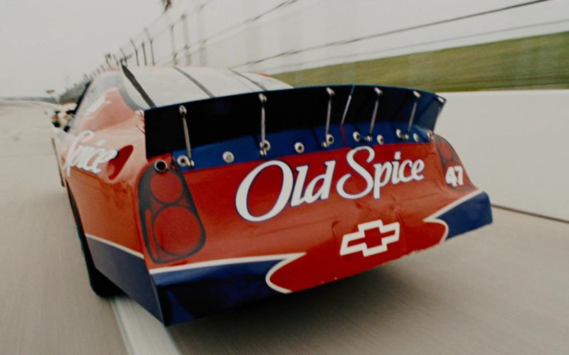 Old Spice x Chevrolet Car Driven by John C. Reilly in Talladega Nights (2)
