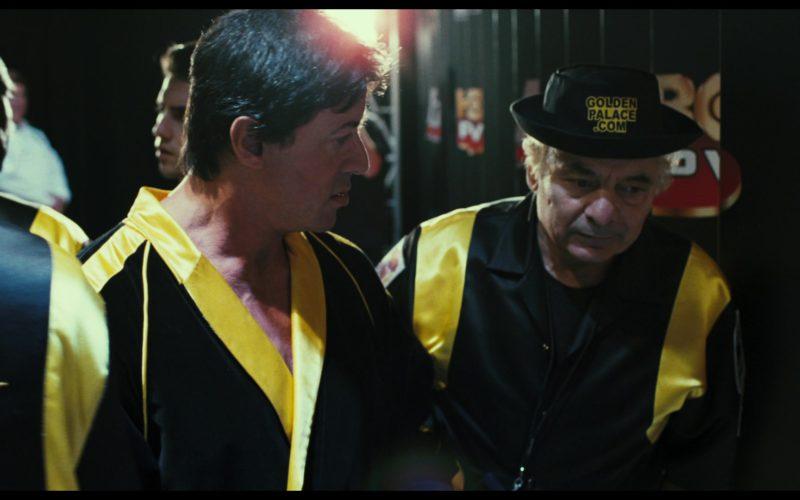 Online Casino GoldenPalace.com Hat Worn by Burt Young (Paulie Pennino) in Rocky Balboa (2)