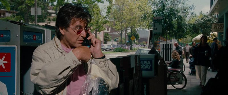 Pacific Bell Payphone and USA Today in The Insider (1999) - Movie Product Placement