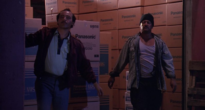 Panasonic Boxes in Stop! Or My Mom Will Shoot (1992) - Movie Product Placement