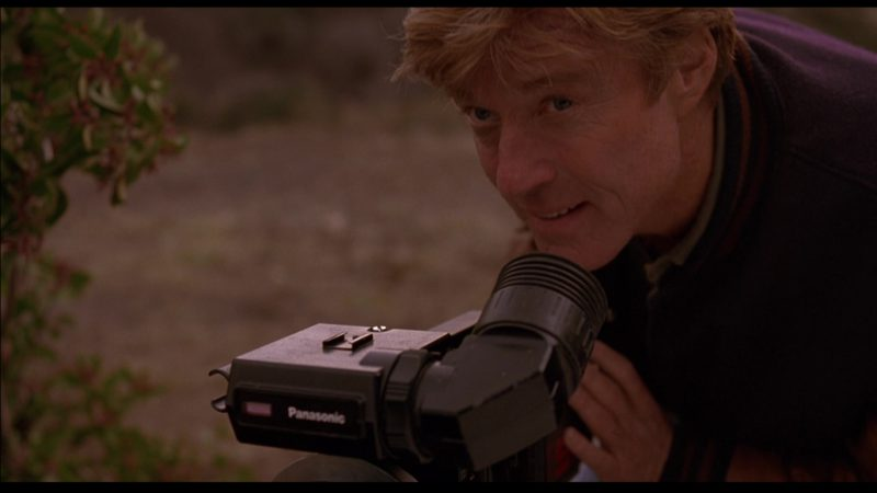 Panasonic Camera Used by Robert Redford in Sneakers (1992) - Movie Product Placement