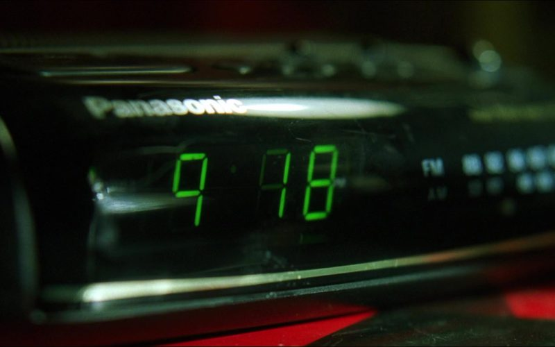Panasonic Digital and Radio Clock in The Matrix