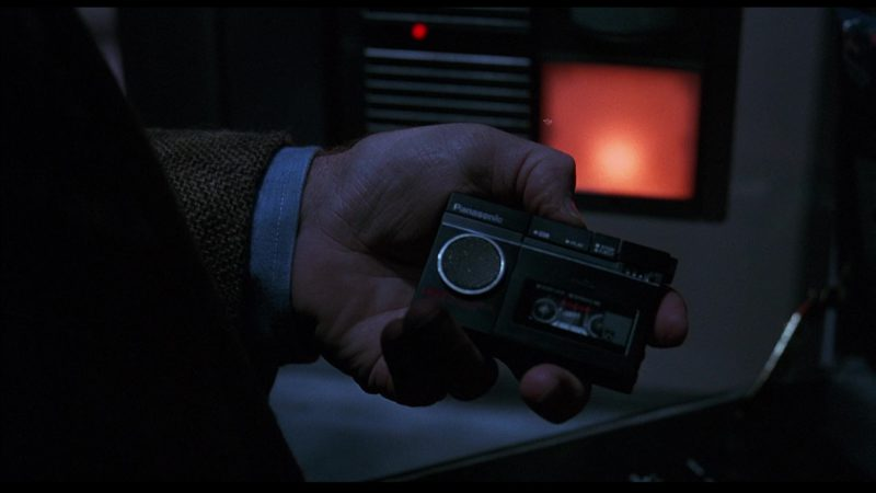 Panasonic Portable Cassette Recorder in Sneakers (1992) - Movie Product Placement
