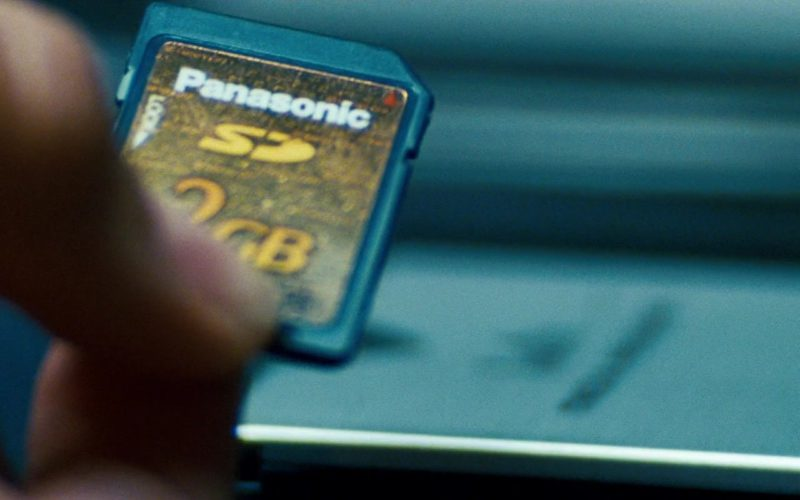 Panasonic SD Card 2GB in Transformers