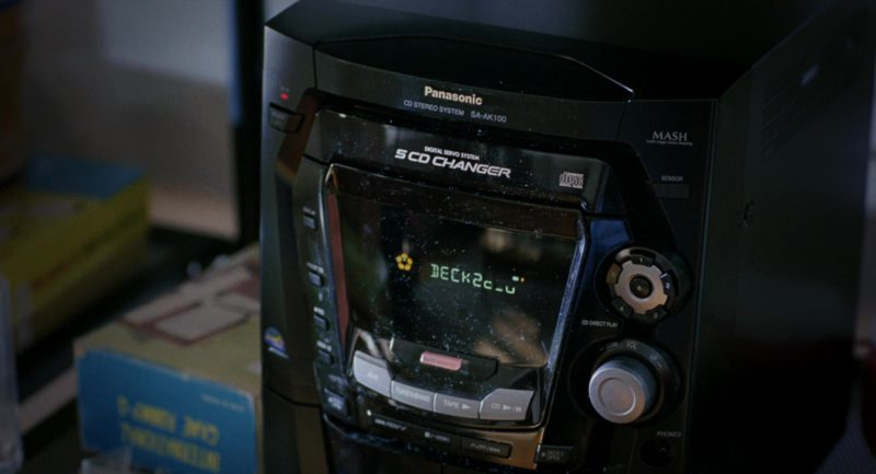 Panasonic CD Stereo System in Eternal Sunshine of the Spotless Mind (2004) Movie Product Placement