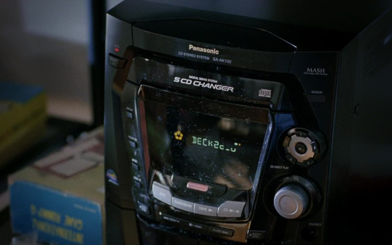 Panasonic in Eternal Sunshine of the Spotless Mind