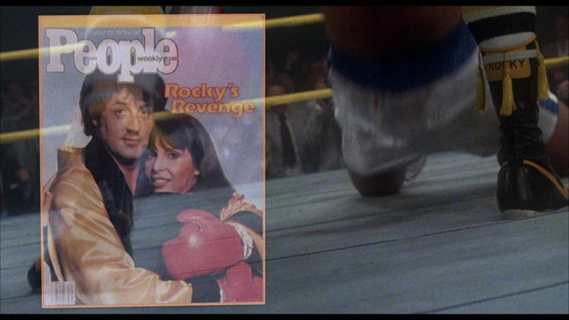 People Magazine in Rocky 3 (1982) - Movie Product Placement