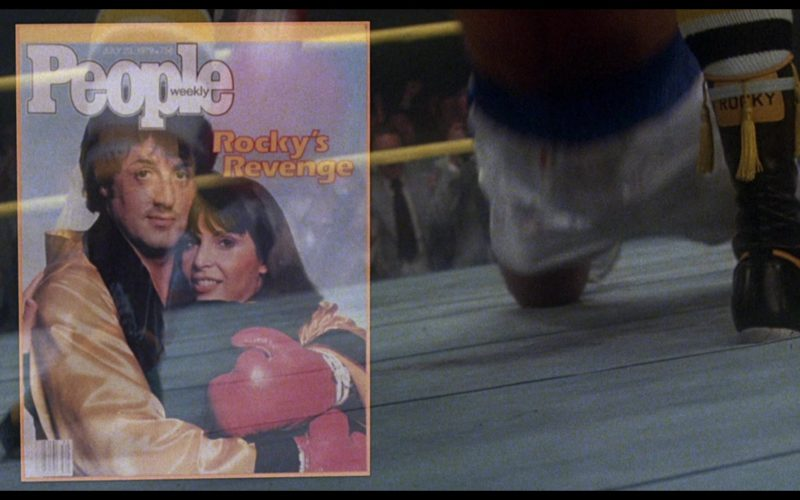 People Magazine in Rocky 3