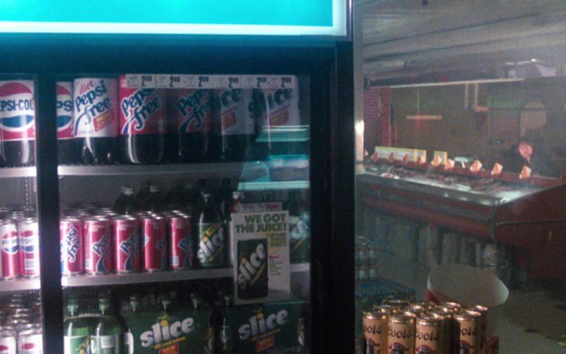 Pepsi-Cola, Diet Pepsi Free, Slice Soda and Coors Beer in Cobra