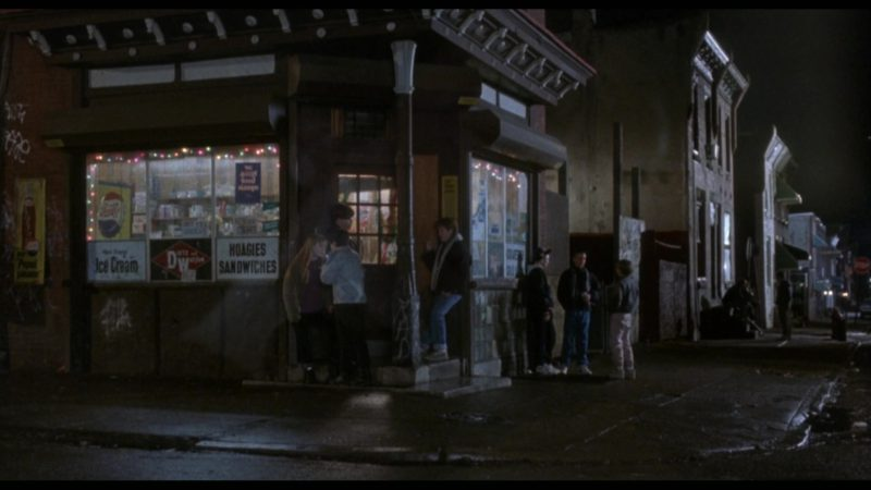 Pepsi Cola Signs in Rocky 5 (1990) - Movie Product Placement
