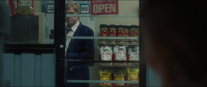 Pepsi, Mountain Dew, UTZ Chips in The Old Man & the Gun (2018) Movie Product Placement