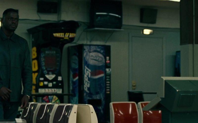 Pepsi Vending Machine in Widows