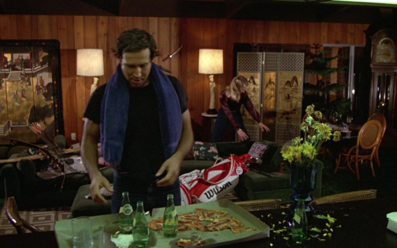 Perrier Water and Wilson Golf Bag in Caddyshack (1)