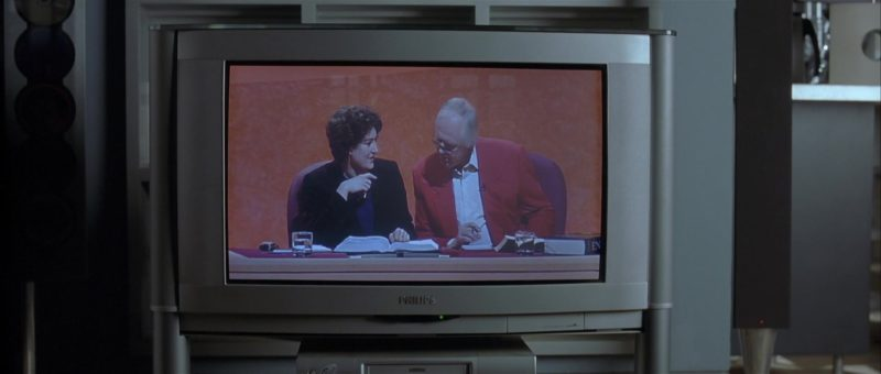 Philips TV in About a Boy (2002) Movie Product Placement