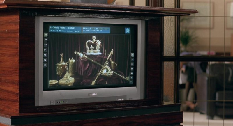 Philips TV in Johnny English (2003) Movie Product Placement