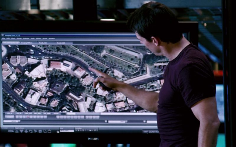 Philips TV in Mission Impossible III