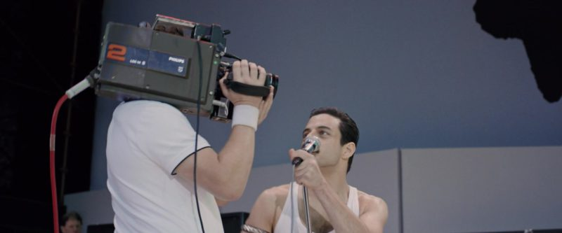 Philips Video Camera in Bohemian Rhapsody (2018) Movie Product Placement