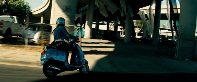 Piaggio Vespa LX 150 Scooter Used by Megan Fox in Transformers (2007) - Movie Product Placement