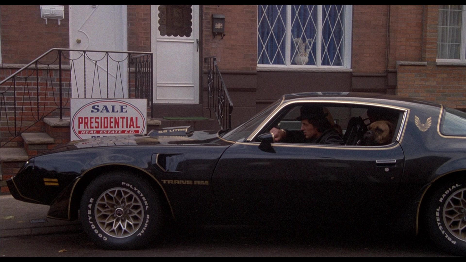 Pontiac Firebird Trans Am Car In Rocky 2 1979 Movie