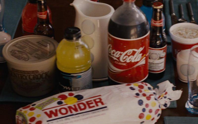 Powerade Drink, Coca-Cola, Budweiser, Wonder Bread in Talladega Nights