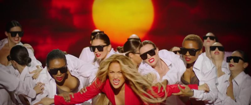 Quay Australia Sunglasses Worn by Dancers in Limitless by Jennifer Lopez (2018) Official Music Video Product Placement