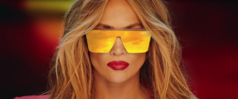 Quay Australia Sunglasses Worn by Jennifer Lopez in Limitless (2018) Official Music Video Product Placement