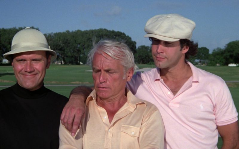 Ralph Lauren Pink Polo Shirt Worn by Chevy Chase in Caddyshack (1)