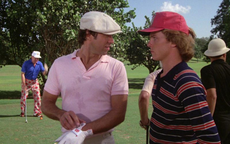 Ralph Lauren Polo Shirt and Wilson Golf Glove Worn by Chevy Chase in Caddyshack (2)