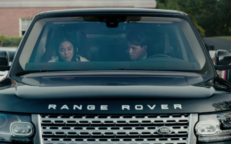 Range Rover Vogue SUV Driven by Keneti James Fitzgerald KJ Apa in The Hate U Give (1)