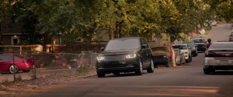 "Range Rover Vogue SUV Driven by Keneti James Fitzgerald ""KJ"" Apa in The Hate U Give (2018) Movie Product Placement"