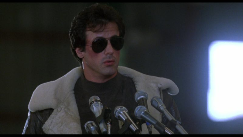 Ray-Ban Men's Sunglasses Worn by Sylvester Stallone (Rocky Balboa) in Rocky 5 (1990) - Movie Product Placement