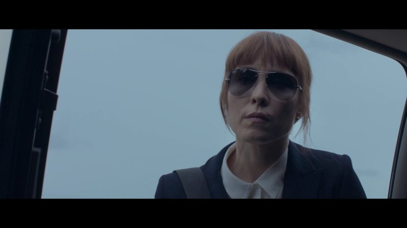 Ray-Ban Women's Sunglasses Worn by Noomi Rapace in Close (2019) Movie Product Placement