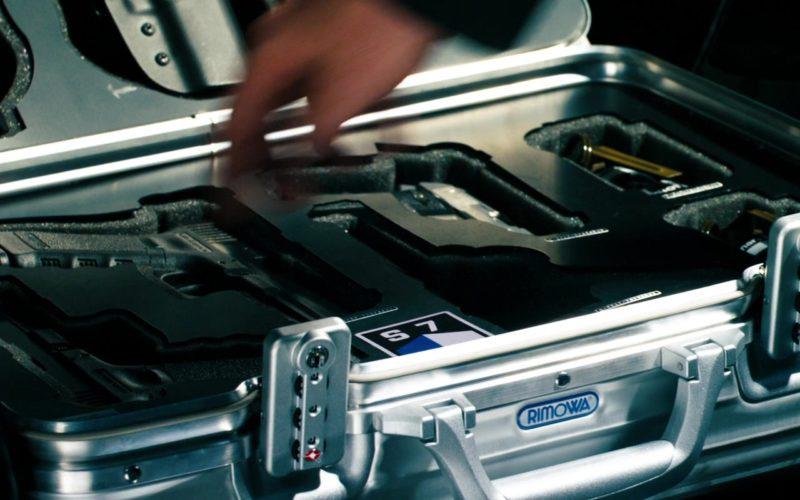 Rimowa Metallic Suitcase in Transformers