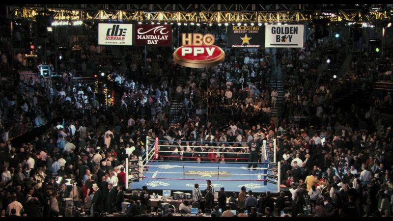 DBE Dibella Entertainment, Mandalay Bay, HBO PPV, Rockstar Energy Drink, Golden Boy Promotions in Rocky Balboa (2006) Movie