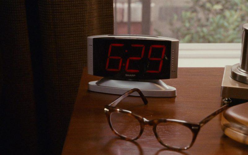 SHARP Digital Clock in The Spy Next Door