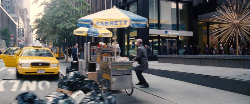 Sabrett Hot Dogs in Spider-Man 3 (2007) - Movie Product Placement