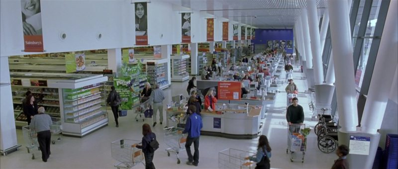Sainsbury's Supermarket in About a Boy (2002) Movie Product Placement